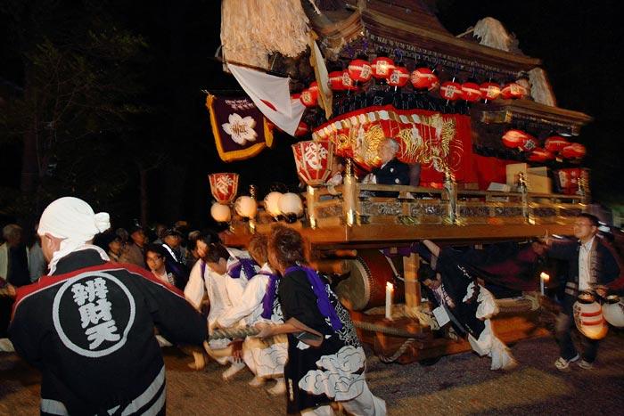 櫛玉比女命神社 戸立祭1