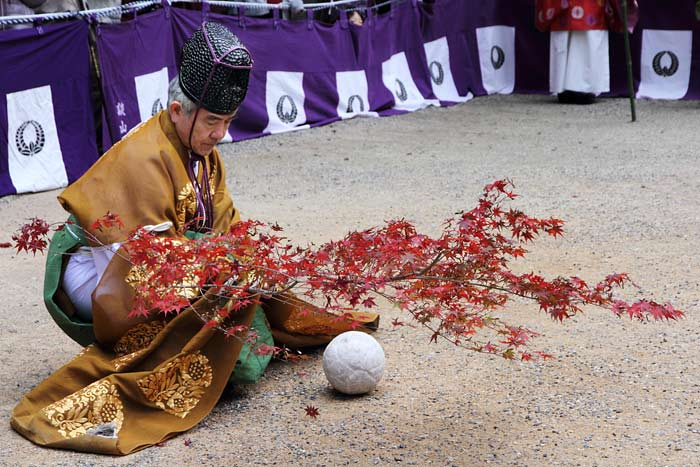 談山神社 秋のけまり祭1