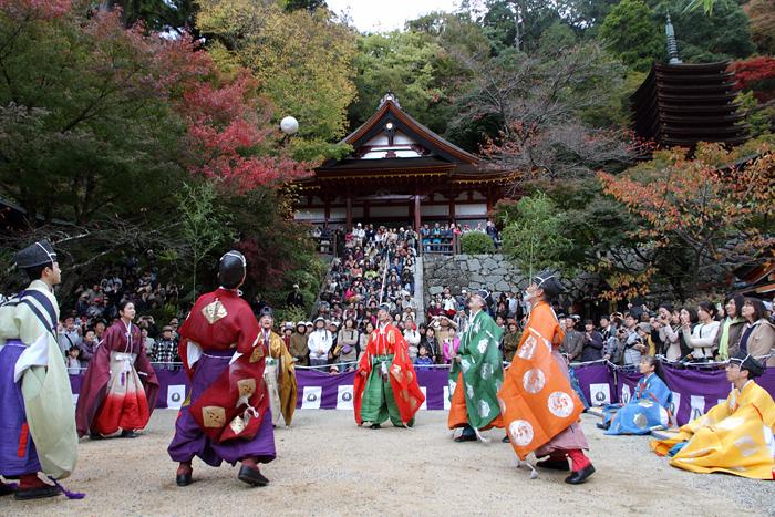 談山神社 秋のけまり祭2