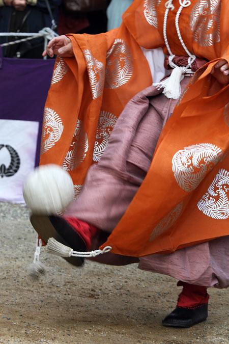 談山神社 秋のけまり祭3
