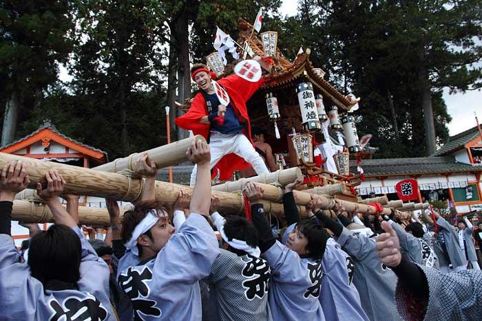 墨坂神社 秋祭り1