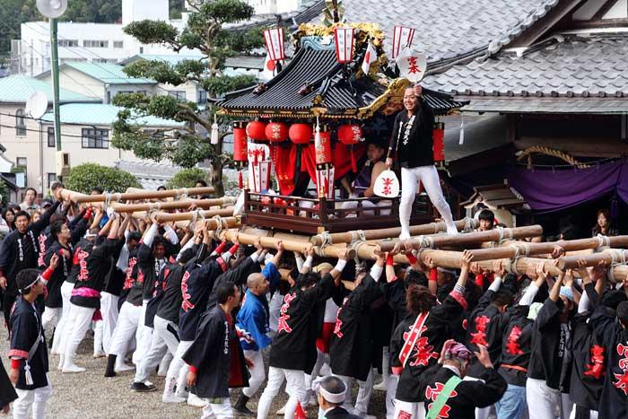 墨坂神社 秋祭り3