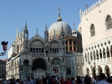 ベネチア077サンマルコ聖堂