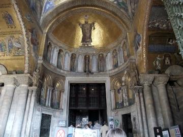 ベネチア085-サンマルコ聖堂