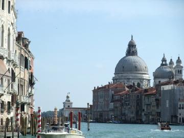 ベネチア103アカデミア橋からの眺望
