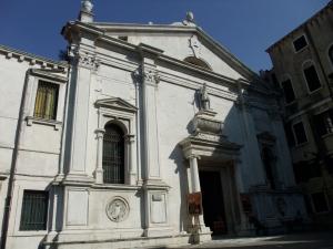 ベネチア132サンタマリアフォルモーザ教会