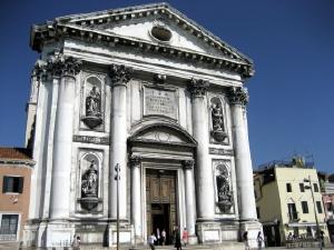 ベネチア146ジェズアーティ教会