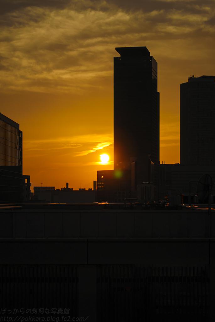 名古屋の夕陽103