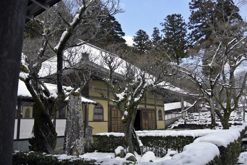 雪の永源寺