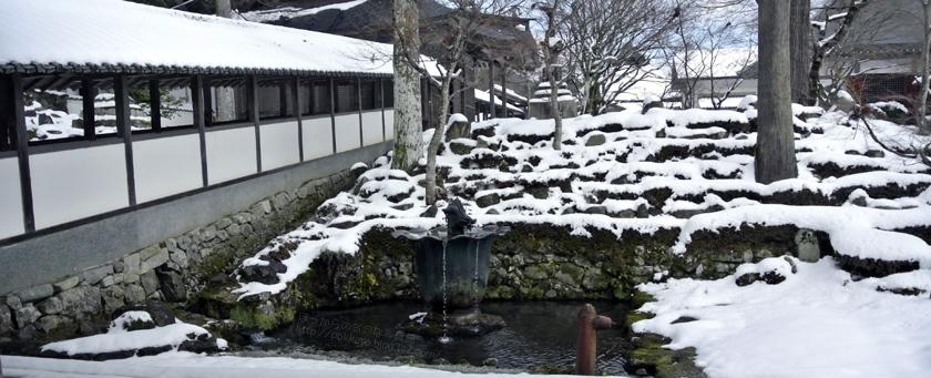 雪の永源寺②
