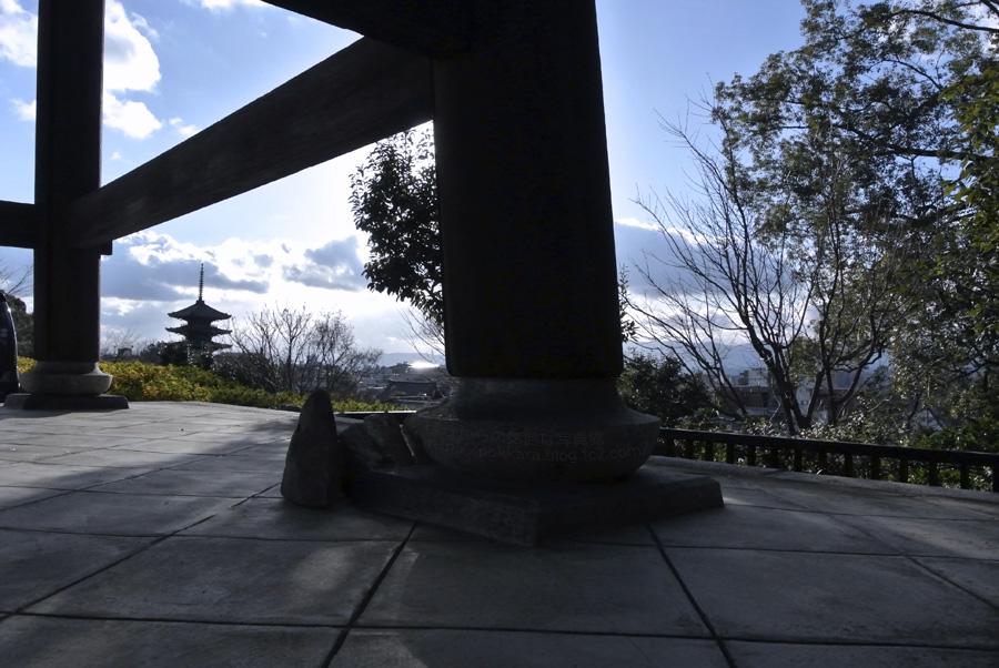 高台寺、冬