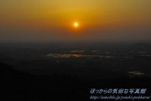 $ぽっからの気侭な写真館-展望台からの夕日