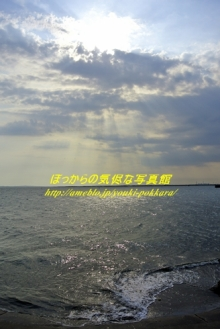 $ぽっからの気侭な写真館-夏の海と空