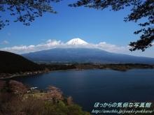 $ぽっからの気侭な写真館-田貫湖展望台からの富士