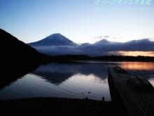 $ぽっからの気侭な写真館-田貫湖:朝富士