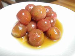 [写真]ミニトマトのポン酢&砂糖漬け