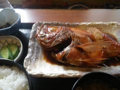 [写真]鴨川・食事処池田の金目鯛の煮付け
