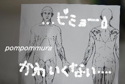 人体図その1