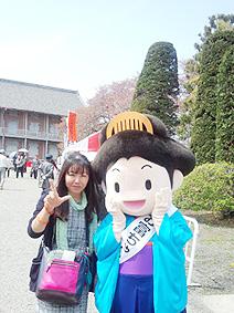お富ちゃん2ショット20130416