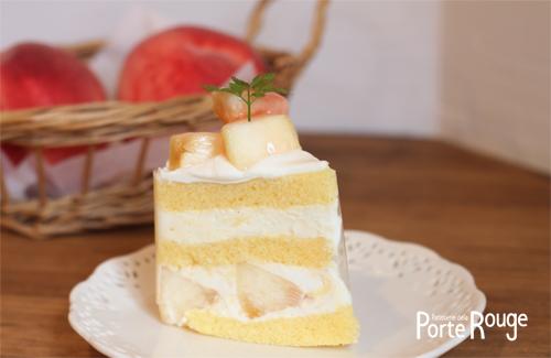 もものケーキ