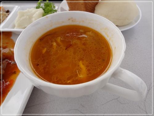 エスニック風なスープ