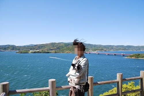舘山寺展望台にて