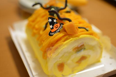 ハロウィンパンプキンケーキ!