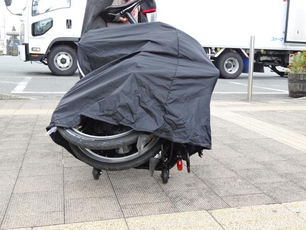 131014_32tern(ターン) トローリーラック 輪行袋 セット現像