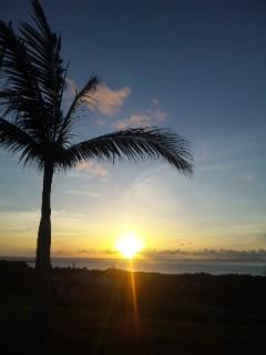 西表島の朝日2