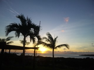 西表島の朝日4
