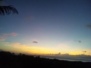 西表島の朝日5