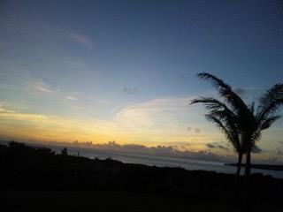 西表島の朝日6
