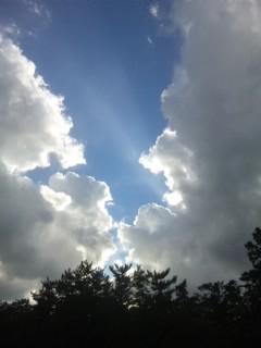 神在祭の出雲の空 2