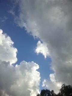 神在祭の出雲の空