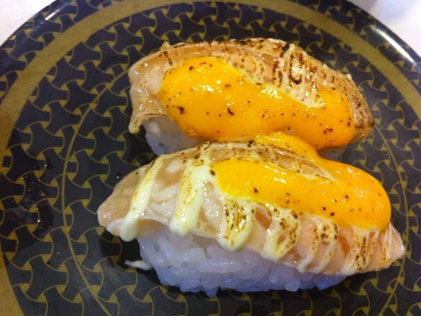 201410はま寿司炙りサーモンチーズ