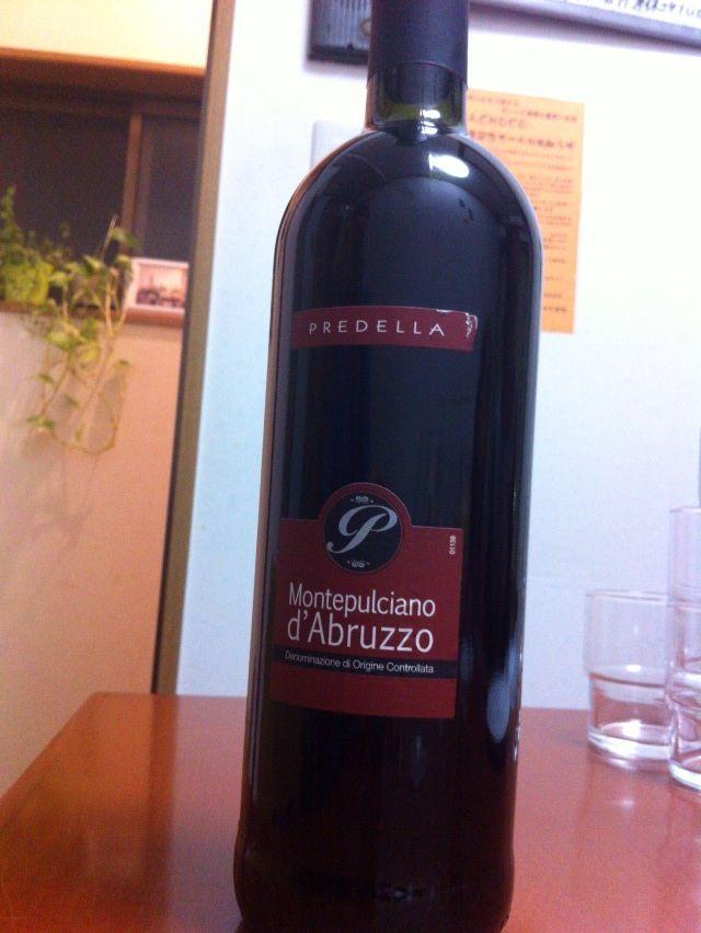 choco赤ワイン
