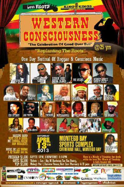 Westen Consciousness 2013 poster