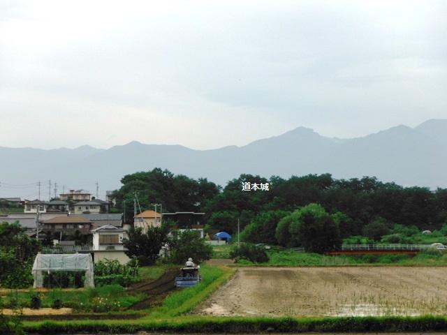 堂本城遠景