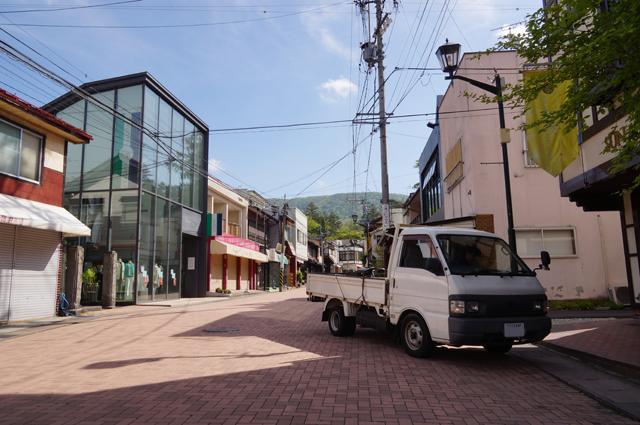 マツダボンゴと旧軽井沢