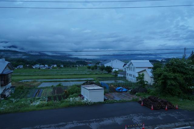 飯山の美しい風景