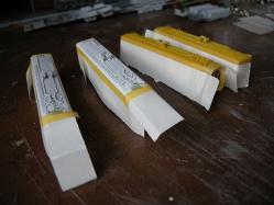 側面は紙でカバー