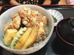 特選塩ザンギ丼