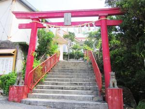 安謝、朝敏処刑地の神社