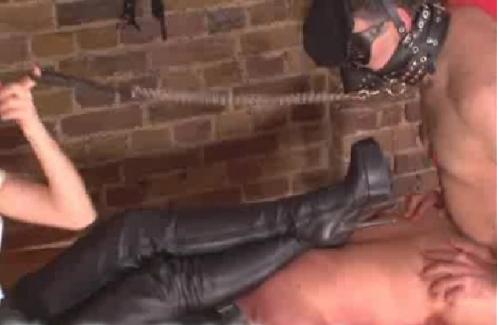 オス奴隷の性処理は奴隷同士の強制ホモSEX04