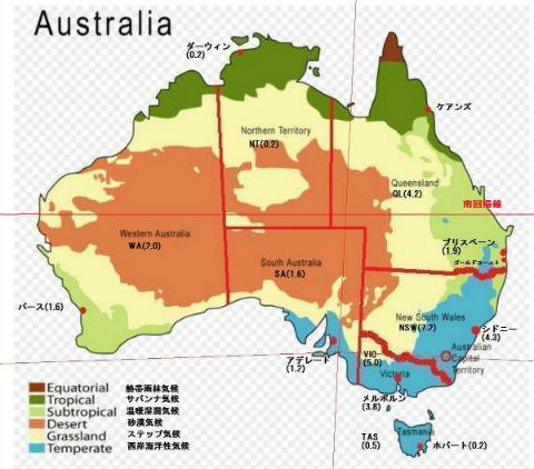 オーストラリア気候3
