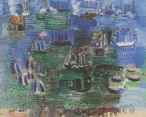08ラウルデュフィ 海の祭り1925 (480x385)