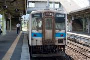 原田行き(桂川駅)