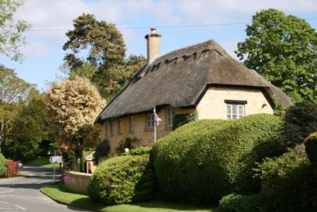 イギリス草屋根