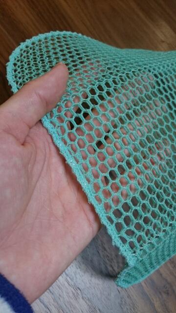 編みたわしアップ
