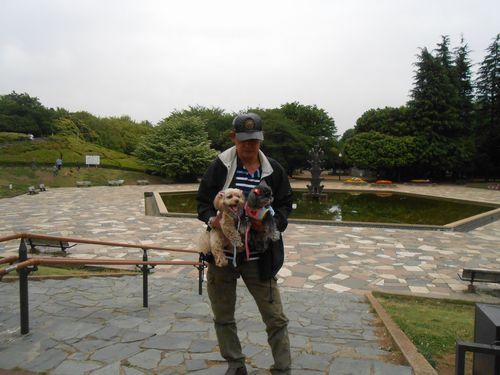 世田谷公園にて